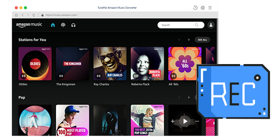Record songs from Amazon Music Unlimited