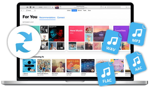 Convert Apple Music to MP3/ AAC/ FLAC/ WAV