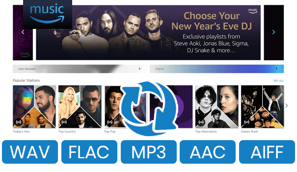 Convert Amazon Music to MP3/ AAC/ FLAC/ WAV
