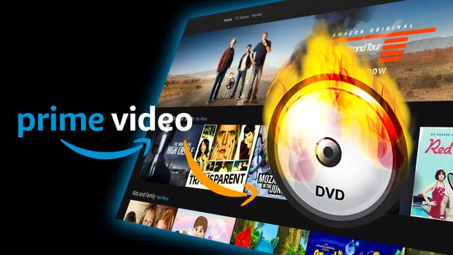 burn amazon video to dvd