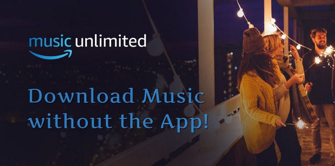 Download music from Amazon without the app