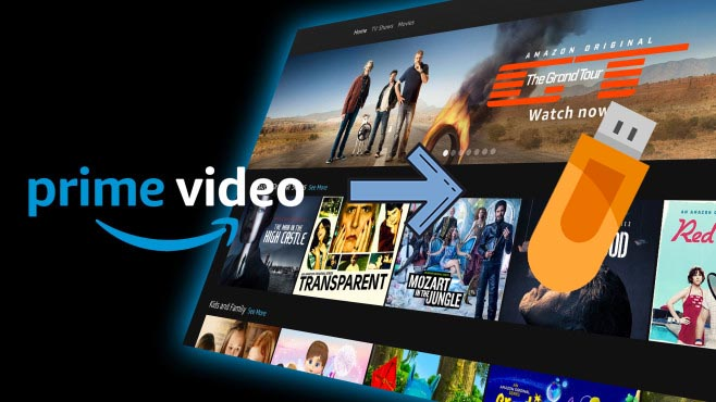 move amazon video to usb