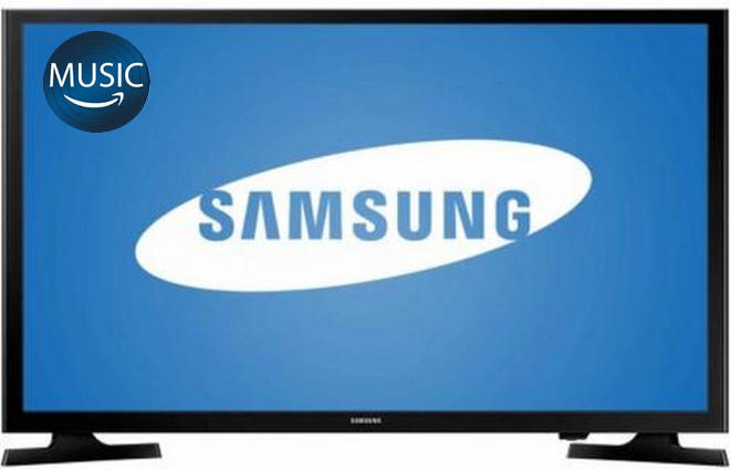play amazon music o samsung tv