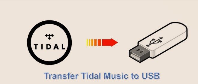 transfer tidal music to usb