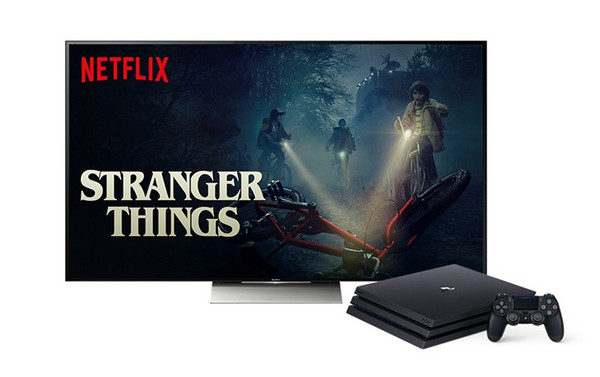 watch netflix on ps4