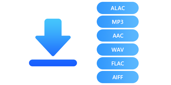 Download and Save Music in MP3/AAC/WAV/FLAC Format